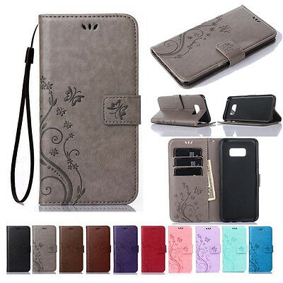 $ CDN6.69 • Buy For Samsung Galaxy S7 S8 S9 S10 S20 Plus Leather Wallet Case Magnetic Flip Cover