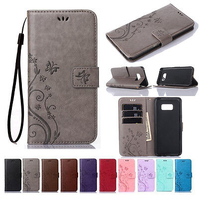 $ CDN7.56 • Buy For Samsung Galaxy S7 S8 S9 S10e S20 S21 Plus Magnetic Leather Wallet Case Cover