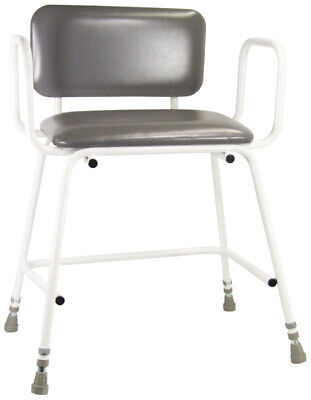 £79.95 • Buy Aidapt Torbay Bariatric Perching Stool With Arms And Back - VG871W