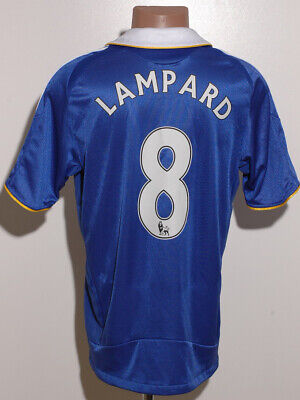Chelsea London 2008/2009 Home Football Shirt Jersey Adidas Lampard #8 Size M • 89.99£