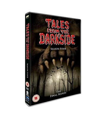 Tales From The Darkside - COMPLETE SEASON 4 Box Set (DVD, 2012, 4-Disc Set) • 12£