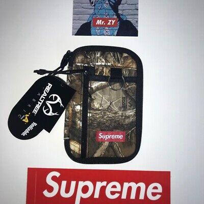 $ CDN89.27 • Buy Supreme FW19 Small Zip Pouch Authentic Camouflage BOX LOGO WALLET SHOULDER BAG S