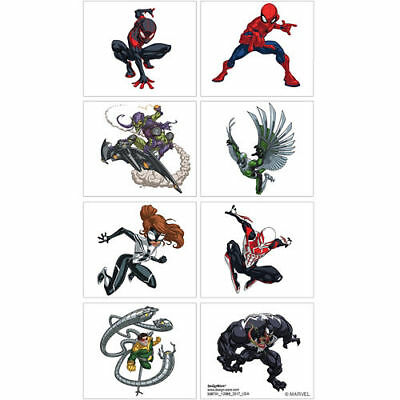 £2.71 • Buy Spiderman Tattoos - Birthday Party Supplies - Favours Loot Ideas - Spider-Man