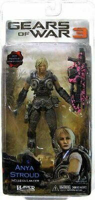 $74.95 • Buy ANYA STROUD Gears Of War 3 7  Inch Video Game Figure Pink Lancer Variant NEW