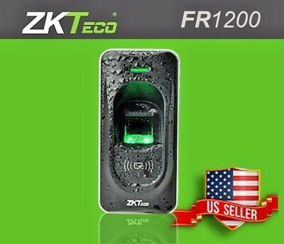 AU117.97 • Buy ZKTECO FR1200 Fingerprint And RFID Card Reader For InBIO/F18/F8/TF1700 Access Zk