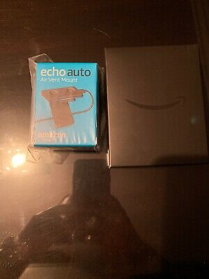 AU81.42 • Buy Amazon Echo Auto Smart Assistant In Sealed Box PLUS Air Vent Mount NEW IN BOX