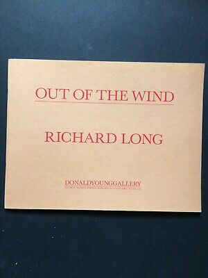 RICHARD LONG, 'Out Of The Wind' Exhibition Catalogue, 1987 • 21.99£