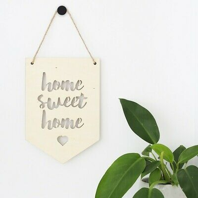 AU29.97 • Buy NEW Set Of Two Plywood Banners (choose Your Designs) By Urban Nest Designs