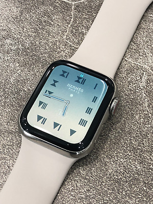 $ CDN1850 • Buy Apple Watch Hermès 40mm Stainless Steel With Fauve Barenia Leather Double Tour