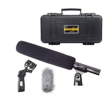 Deity S-MIC 2 Location Kit Condenser Shotgun Microphone Broadcast MIC S SMIC2 • 323.47£