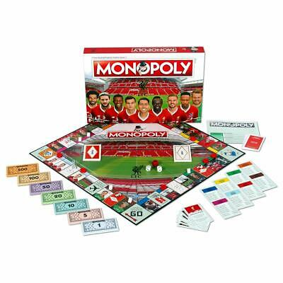 £29.95 • Buy Liverpool FC Monopoly Board Game  Family Game Top Trumps Christmas Gift Football