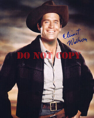 $6.95 • Buy CLINT WALKER Signed 8X10 Autographed Photo