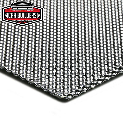 AU44 • Buy EMBOSSED ALUMINIUM Exhaust Heat Shield Multi Layer Quality By Car Builders