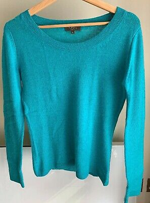 N.Peal Cashmere Blue Jumper Size Xs • 90£