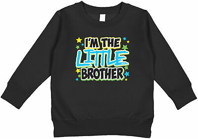 $18.95 • Buy I'm The Little Brother Stars Family Photo Sibling Matching  Toddler Sweatshirt