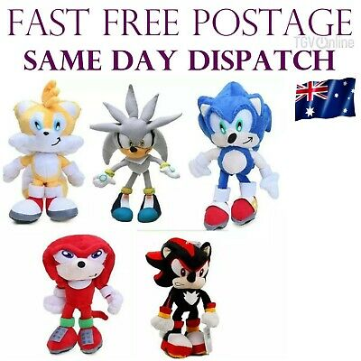 AU14.95 • Buy AU 23cm The Hedgehog Plush Toy Movies & TV Game Action Figure Doll Kids Gift NEW