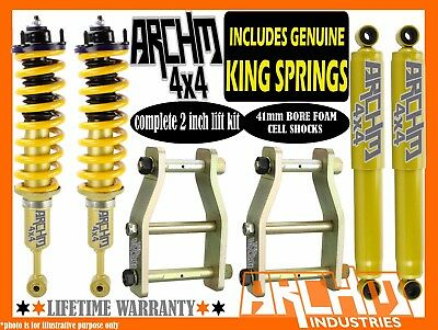 AU715 • Buy LIFT KIT For NISSAN D40 NAVARA ARCHM4X4 & KING SPRING 2INCH 50mm SUSPENSION LIFT