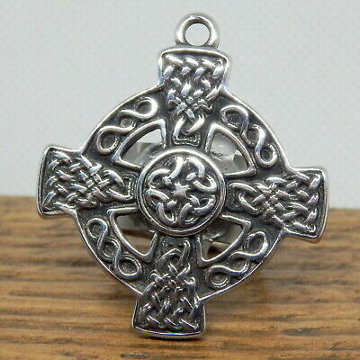Scout Woggles - Celtic Cross Scout Woggle - Celtic Neckerchief Slide • 10.50£