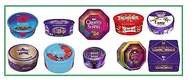 Cadbury Heroes, Roses, Celebrations, Quality St Tub / Chocolate Bar ONLY🍬🍬🍬 • 10.98£
