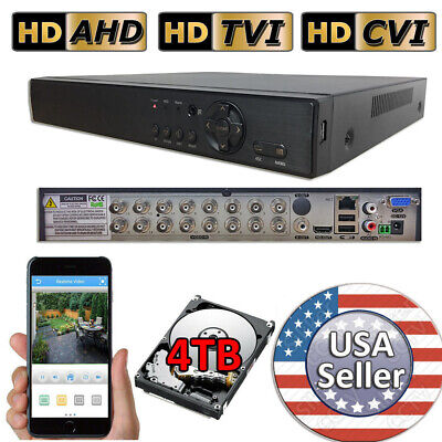 $114.99 • Buy Sikker Standalone 4 8 16 32 Ch Channel DVR Security Camera Recorder HD 1080P Lot