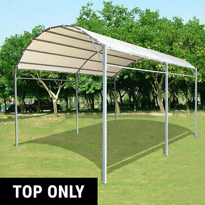 AU53.95 • Buy Fabric Top Replacement Gazebo Marquee Carport Shade Shelter 3x4m Waterproof