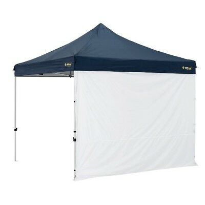 AU44.95 • Buy Oztrail Gazebo Solid Wall Kit 4.5m With Centre Zip