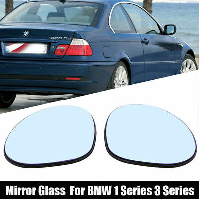 BMW 3 SERIES E92 2008 WING MIRROR GLASS BLUE HEATED LEFT