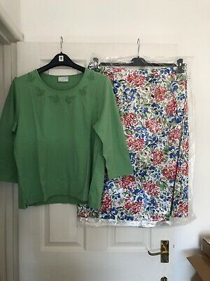 Cotswold Collection Skirt UK 22 Lined And Top New (a19) • 26£