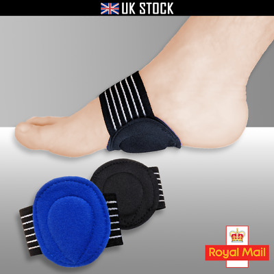 Plantar Fasciitis FOOT ARCH SUPPORT Heel Pain Relief Pad Fallen Arches Cushion • 2.99£