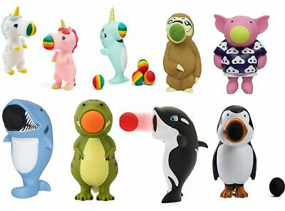 Popper Animals Pack With Soft Foam Balls Gift Selection, Toy For Kids Children • 9.63£