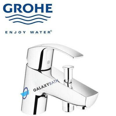Grohe Eurosmart Modern Single Lever Bath Shower Bathroom Mixer Tap Deck Mounted • 89.99£