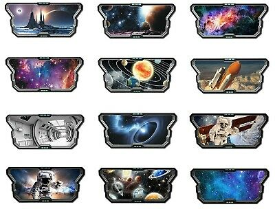 Space Wall Sticker Stars Universe Galaxy Spaceship Aliens Astronaut Planets  • 3.84£