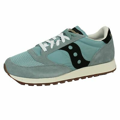 Saucony Jazz Original Vintage Mens Blue Black Trainers • 59.99£