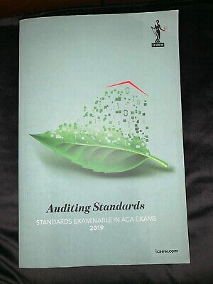 ICAEW Open Book - Auditing Standards By Croner-i Ltd Book • 16£