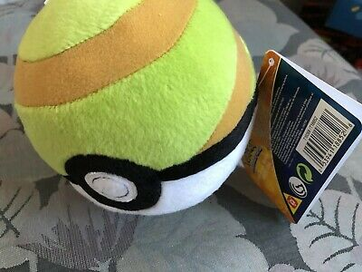 Pokemon Nest Poke Ball   Plush Soft Toy • 10£