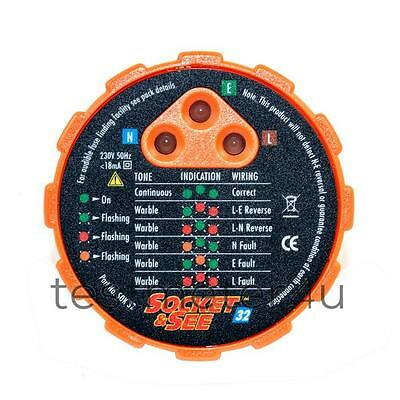 Socket And See SOK32 Socket Tester • 25.20£
