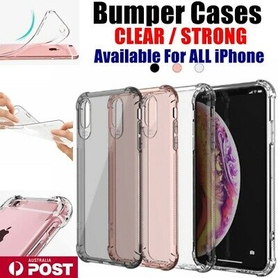 AU1.99 • Buy Bumper Clear Soft Jelly Shockproof TPU Case Cover For IPhone 6/s/7/8/Plus/Max/XR