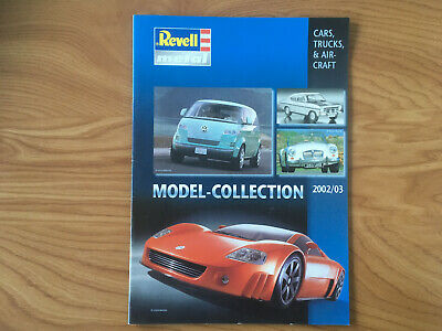 £4.22 • Buy CATALOGUE REVELL METAL Collection 2002 / 2003    G8