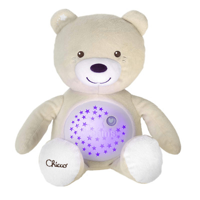 £23.41 • Buy Chicco Soft Baby Bear Cuddle Toy With Glow Night Light, Classic Melody- Neutral