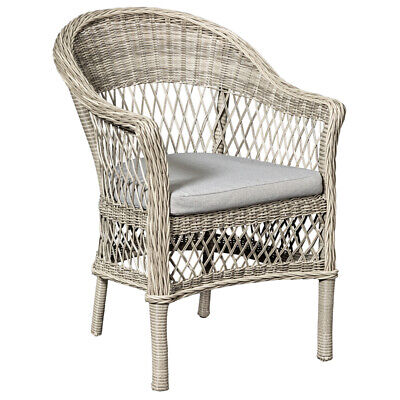 AU494 • Buy Soraya Natural Wicker Dining Or Lounge Chair Home & Garden Furniture Chairs
