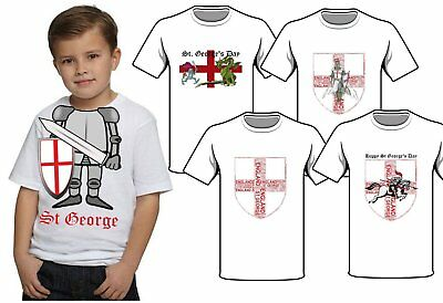 £1.25 • Buy St Georges Day England Shield Iron On T Shirt Transfer Choice
