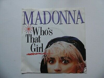 £2.20 • Buy Madonna - Who's That Girl 7  Vinyl Record