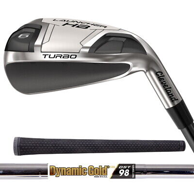 AU723.31 • Buy New 2020 Cleveland Launcher HB Turbo Irons - Steel Shafts - Pick Clubs And Flex