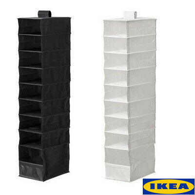 IKEA SKUBB HANGING 9 Compartments Shoe Organiser Storage Boxes Wardrobe Divider • 7.99£