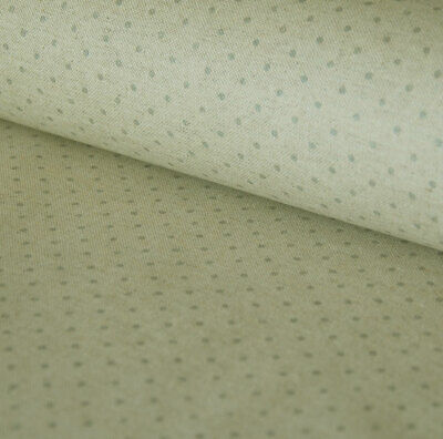 French Grey Spotted Linen Oilcloth Fabric Machine Washable Table Cloth  • 8£