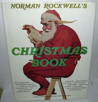 $ CDN14 • Buy Norman Rockwell's Christmas Book, 1977 Hardcover With Dust Jacket W/95 Illustr.