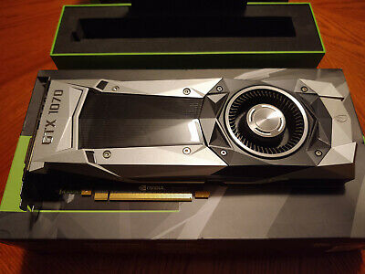 $ CDN400.01 • Buy NVIDIA GeForce GTX 1070 Founders Edition 8GB GDDR5