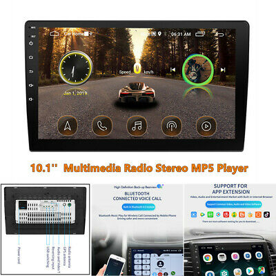 $151.30 • Buy 10.1  Touch Screen Multimedia Radio Stereo FM Car MP5 Player For IOS / Android
