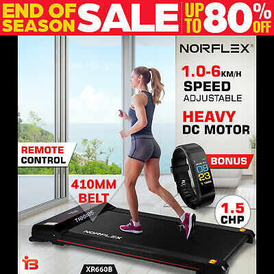 AU299 • Buy NORFLEX Electric Walking Treadmill Home Office Exercise Machine Fitness B