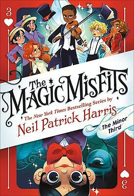 View Details The Magic Misfits: The Minor Third: The Magic Misfits #3 By Neil Patrick Harris  • 12.00AU